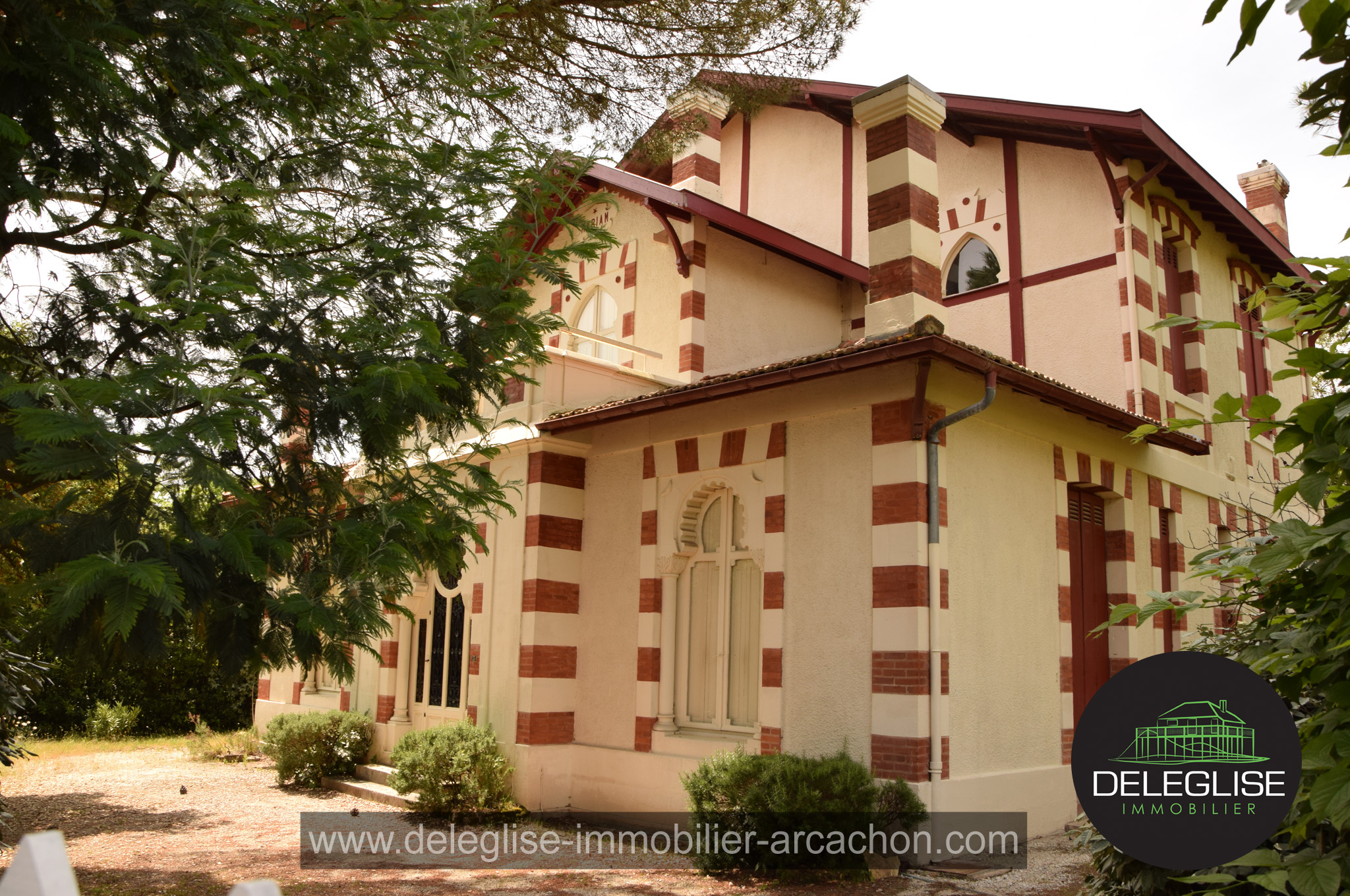 La Villa Myriam à Arcachon ville d'hiver