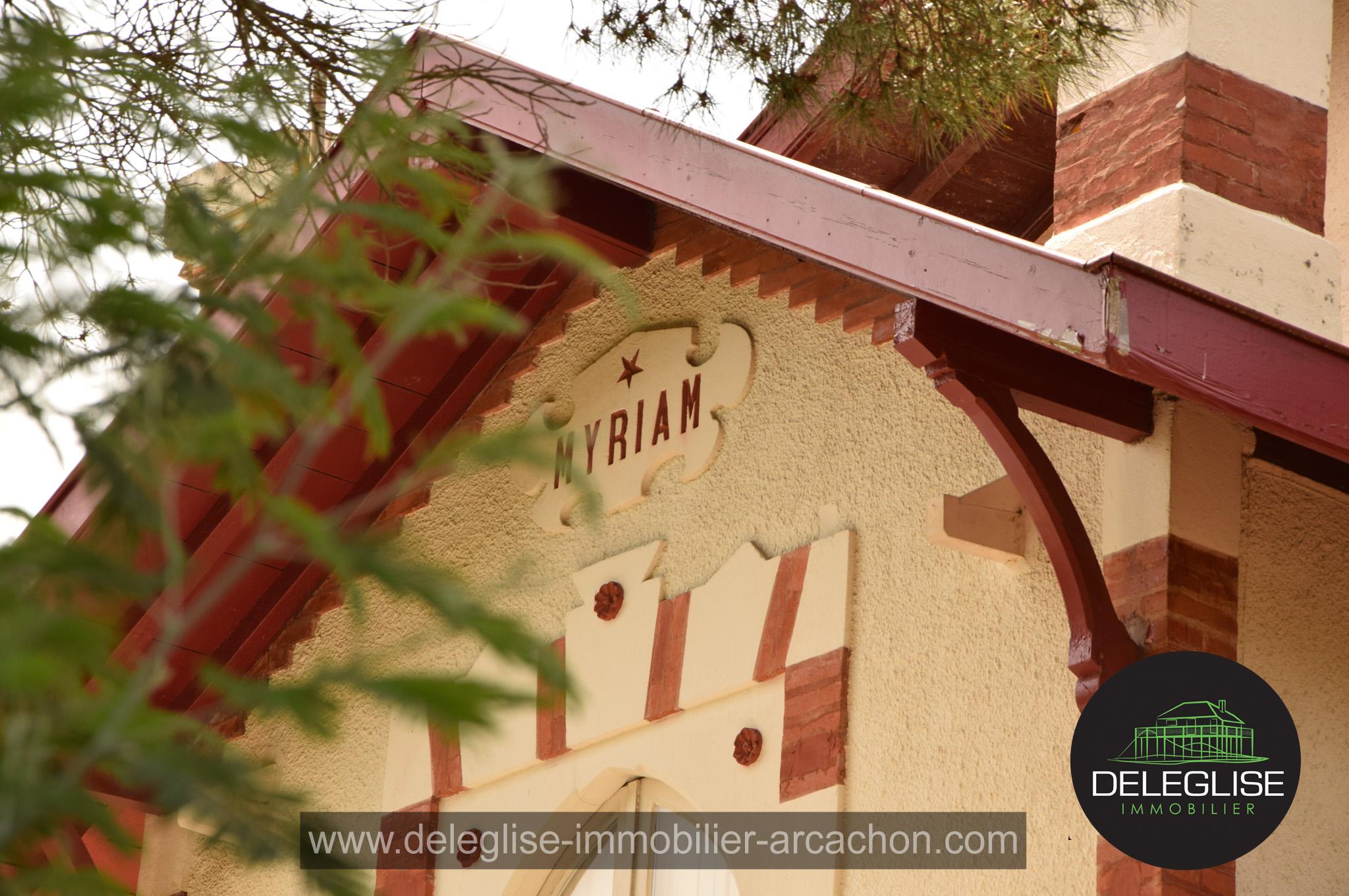 Myriam Villa Arcachonnaise en ville d'Hiver