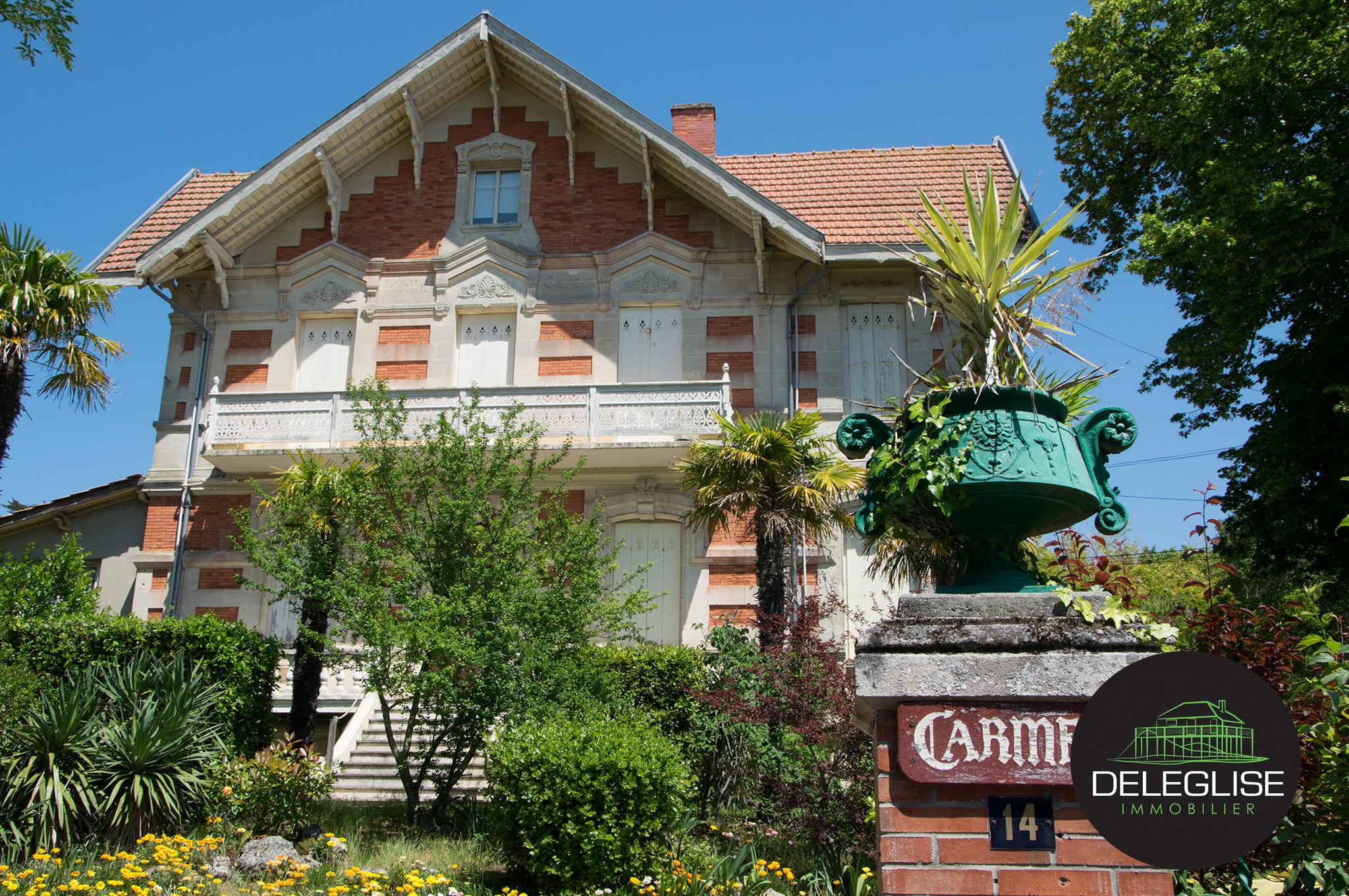 Villa carmen ville d 39 hiver arcachon del glise immobilier for Conception de la villa