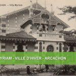 Villa Myriam Arcachon Carte postale ancienne