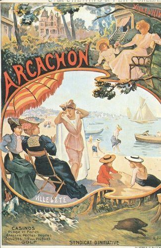 arcachon pub vintage