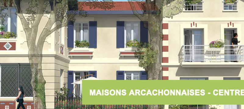 Maisons Arcachonnaises à vendre VEFA