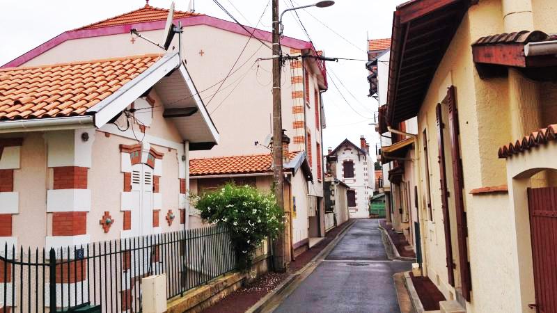 Le centre ville d'Arcachon et le charme de ses maisons si caractéristiques