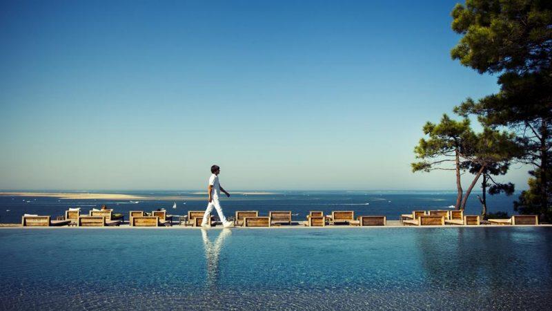l 39 un des plus beaux panoramas du pyla la co o rniche del glise immobilier. Black Bedroom Furniture Sets. Home Design Ideas