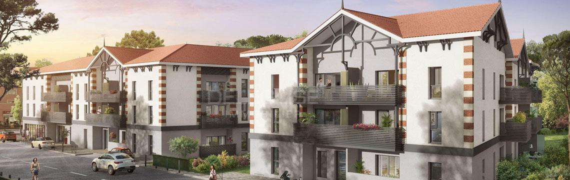 Gujan mestras centre ville appartements neufs for Appartement neuf bordeaux centre ville