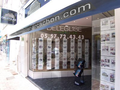 Agence Immobiliere Arcachon - DELEGLISE IMMOBILIER