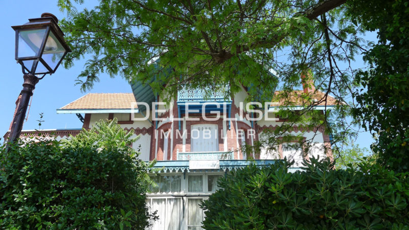 acheter une maison en ville d'hiver à Arcachon