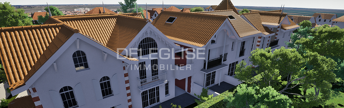 Les Jardins deganne - programme neuf arcachon - deleglise immobilier